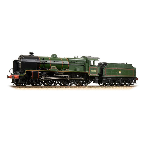 "Bachmann 31-214 LMS Patriot Class 45538 ""Giggleswick"" BR lined Green Early Crest"