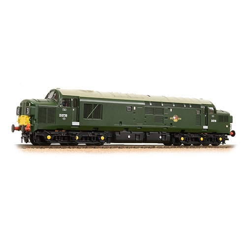 Bachmann 32-791DS Class 37/0 D6739 in BR green, small yellow panels DCC Sound