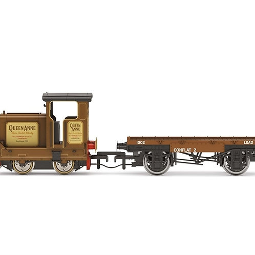 "Hornby R3707 Ruston 48DS ""Queen Anne"" in Longmorn Distillery livery"