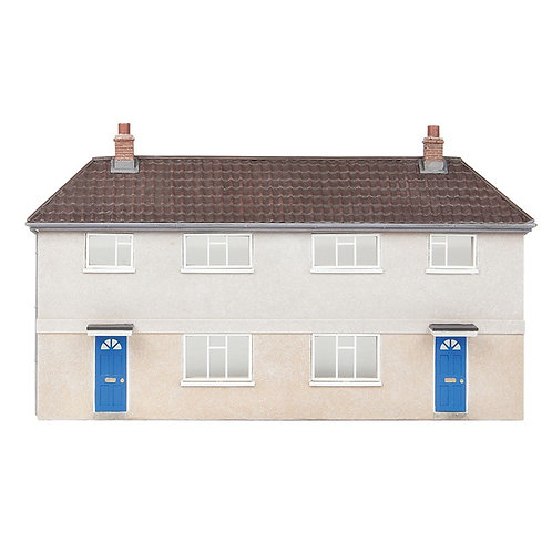 Scenecraft 44-0202 Low Relief Municipal Reinforced Concrete Housing