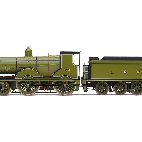Hornby R3863 Class T9 4-4-0 120 in LSWR green