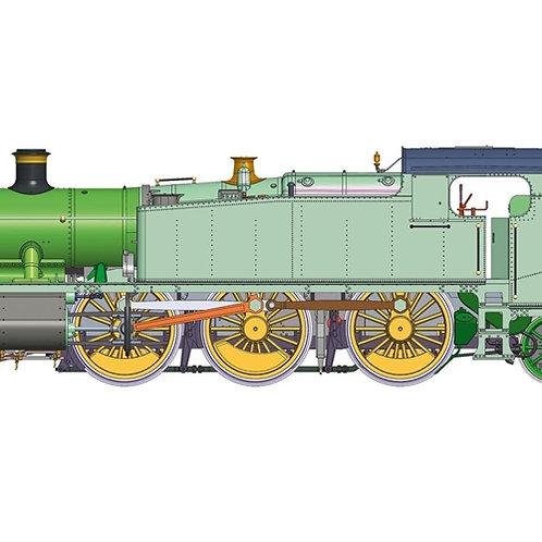 """Hornby R3850 BR 61xx """"Large Prairie"""" 2-6-2T 6147 Era 5"""