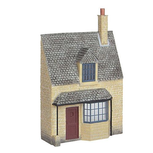 Scenecraft 44-295 Low Relief Honey Stone Cottage