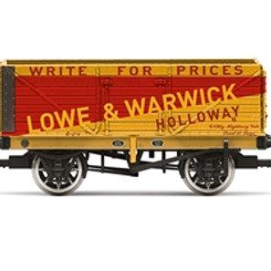 "Hornby R60026 7-plank wagon ""Lowe & Warwick - Holloway"" - Due Jun-21"