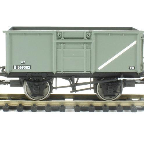 37-378 12T Mineral Wagon BR Grey