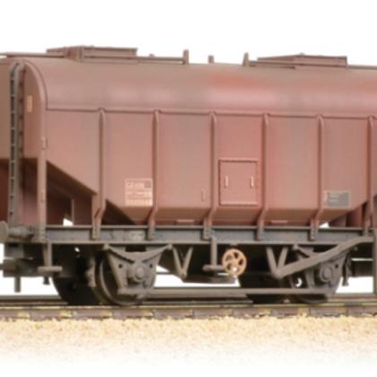 Bachmann 38-602A 21 Ton Grain Hopper BR Bauxite, Late, Heavily Weathered