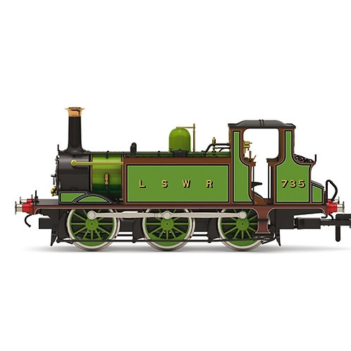 Hornby R3846 Class A1 Terrier 0-6-0T 735 in LSWR green