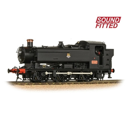 Bachmann Branchline 35-026 Class 94xx 0-6-0T 9487 in BR Black with early (Sound)