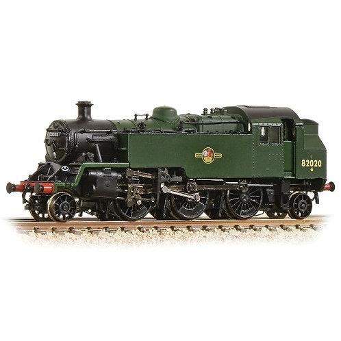 Farish 372-331 BR Standard 3MT Tank 82020 BR Green