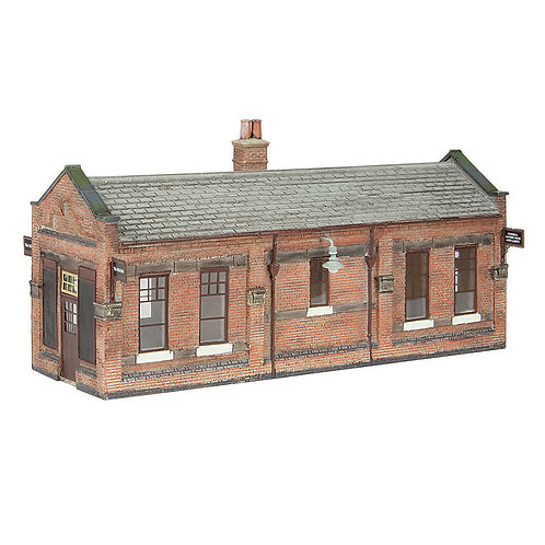 Bachmann 44-116B Great Central Waiting Room Brown and Cream