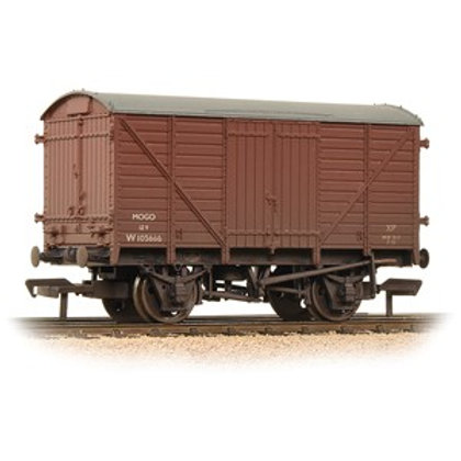 GWR 12T 'Mogo' Van BR Bauxite (Early) [Weathered}