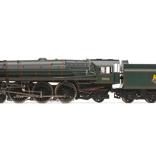 Hornby R3865 Class 7MT Britannia 70013 'Oliver Cromwell' in BR green late