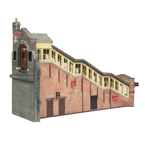 Bachmann 44-119B Great Central High Level Station Entrance Brown and Cre