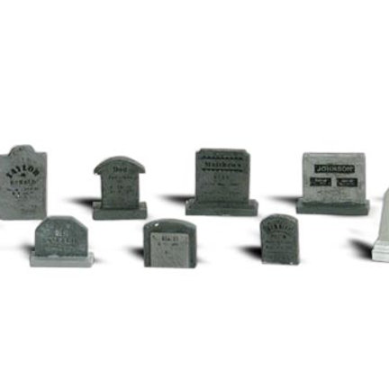 N Gauge Figures Tombstones