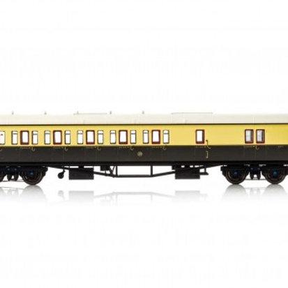 Hornby R4876 Collett 57' 'Bow ended' non-corridor brake third (Left-hand) 4971