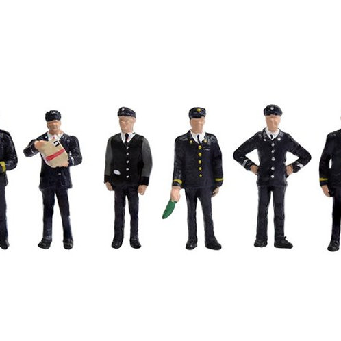 00 Gauge figures 1960/70's Station Staff