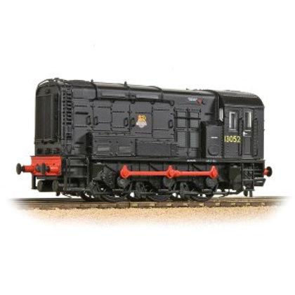 Bachmann Branchline 32-114B Class 08 13052 BR Black (Early Crest)