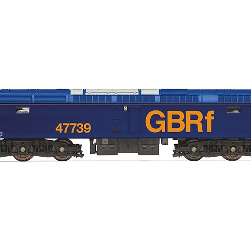 Hornby R3906 Class 47/7 47739 in GBRf livery - Railroad range