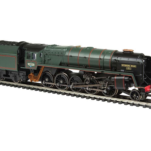 "Hornby R3821 Class 9F 92220 ""Evening Star"" in BR Green with late crest - ltd ed"