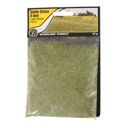 Woodland Scenics FS619 4mm Static Grass Medium Green