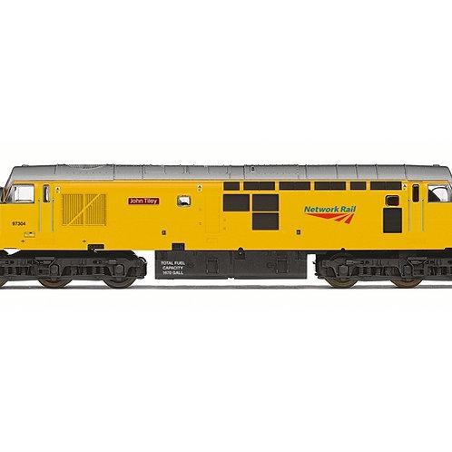 Hornby R3914 Class 37 97307 'John Tiley' in Network Rail yellow - Railroad range