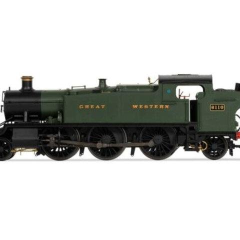 Hornby R3721 Class 61xx 'Large Prairie' 2-6-2T 6110 in GWR green