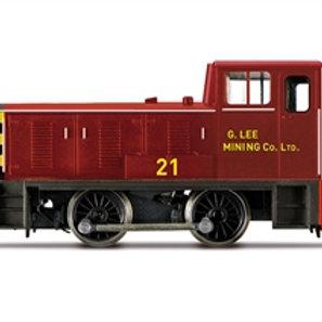 "Hornby R30051 Bagnall 0-4-0 diesel shunter ""G.Lee Mining Company"""