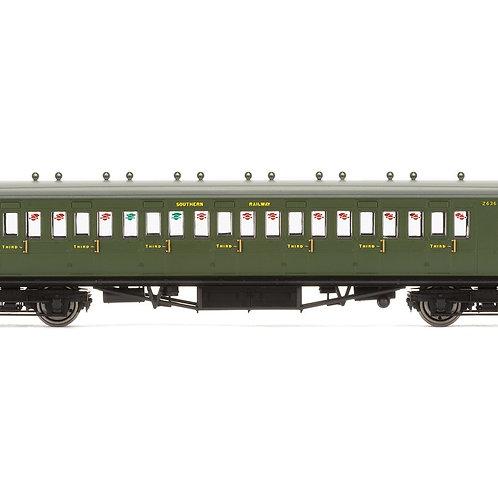 Hornby R4717A SR Ex LSWR Non-Corridor Brake 3rd Coach 2636