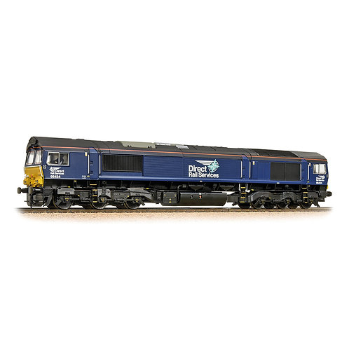 Bachmann Branchline 32-982 Class 66 66434 in DRS blue with Compass Logos