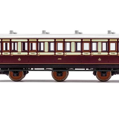 Hornby R40074 LNWR, 6 Wheel Coach, 3rd Class, 1523 - Era 2