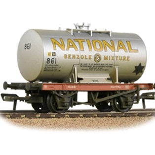 14T Class A Anchor-Mounted Tank Wagon 'National Benzole' Silver