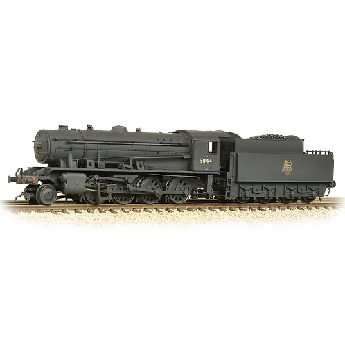 Graham Farish 372-425A Class WD Austerity 2-8-0 90441 in BR black (late crest)