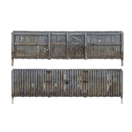 A2995 N Gauge Privacy Fencing by Woodland Scenics