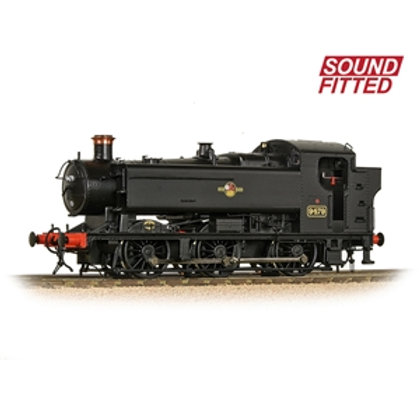 Bachmann Branchline 35-027 Class 94xx 0-6-0T 9479 in BR Black late crest (Sound)