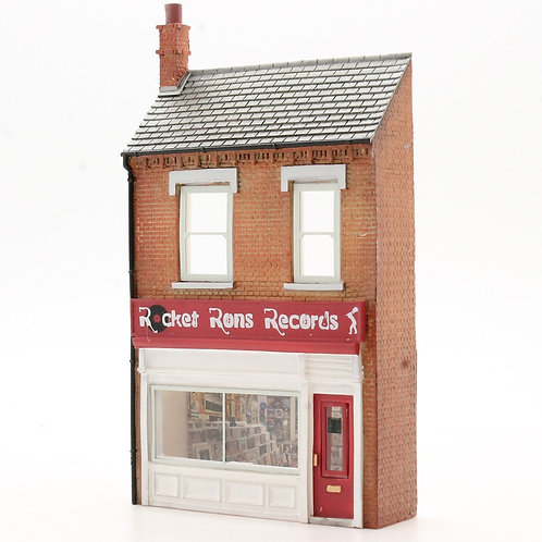 Bachmann Low Relief Record Shop