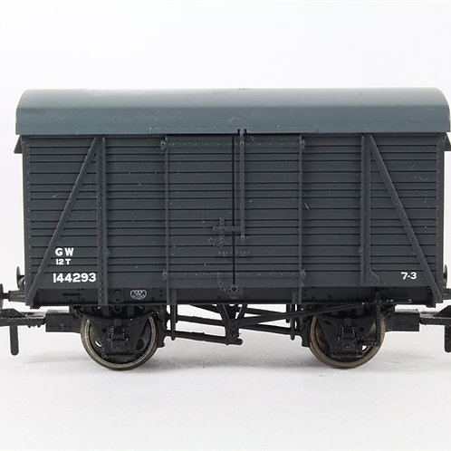 380083 12T Southern 2+2 Planked Vent Van GWR Grey