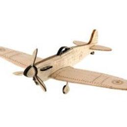 SMA Spitfire MkV Balsa + Plywood kit