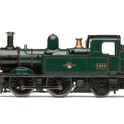 Hornby Railroad R3692 Class 14xx 0-4-2T 1424 in BR green with late crest