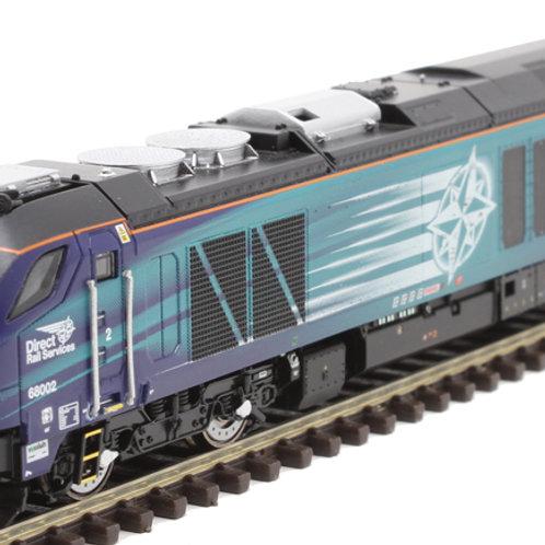 "Dapol 2D-022-008 Class 68 68004 ""Rapid"" in Direct Rail Services blue"