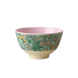 small bowl en mélamine - lupin print
