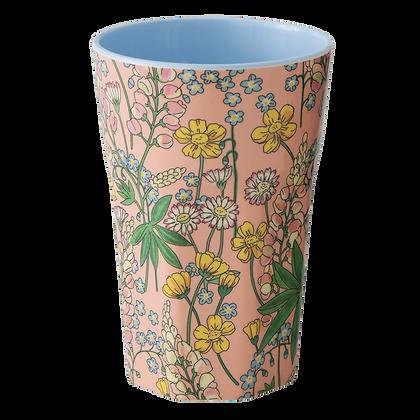 tall cup en mélamine - lupin print