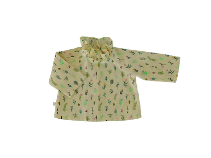 blouse millefleurs - jaune