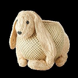 lapine raffia storage basket