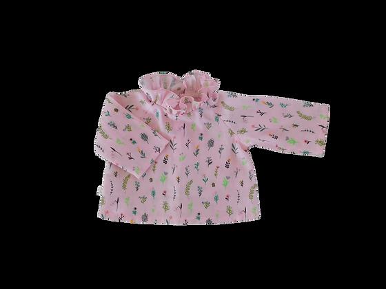 blouse millefleurs - rose
