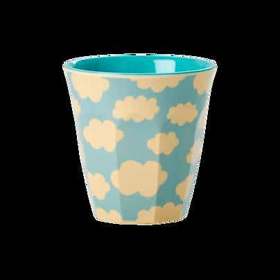 small cup en mélamine - cloud print