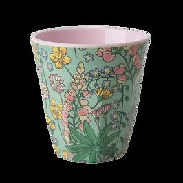 medium cup en mélamine - lupin print