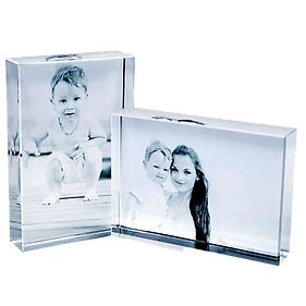 Personalized 3D photo crystal