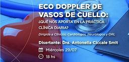 Eco Doppler de Vasos de Cuello: ¿Qué nos aporta en la práctica clínica diaria?