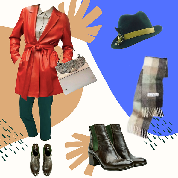 Winter outfit idea for Spring women