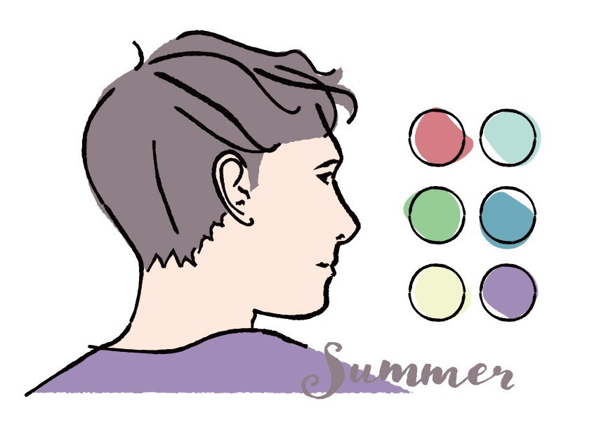 Color analysis, Four seasons color analysis, Summer type men, Summer color for men, Color coordinate for summer men, Color coordination for summer men, Outfit ideas for summer men, The best outfit ideas for summer men, Outfit tips for summer men, Best colors for summer men, Best suits colors for summer men, Best shirts colors for summer men